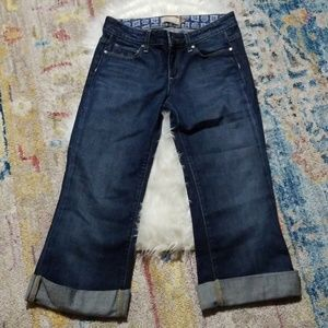 """Like-New! Paige  """"Robertson"""" cropped jeans"""